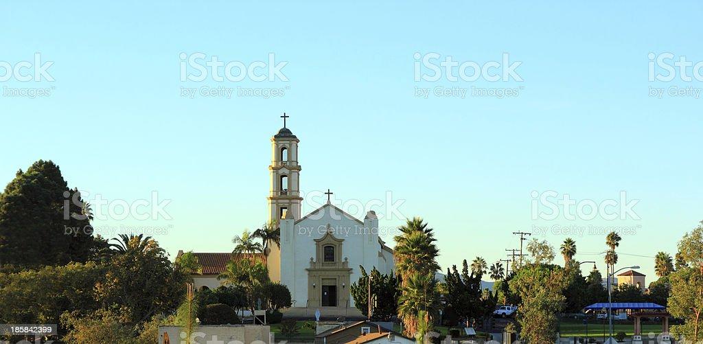 Camarillo Church, CA royalty-free stock photo