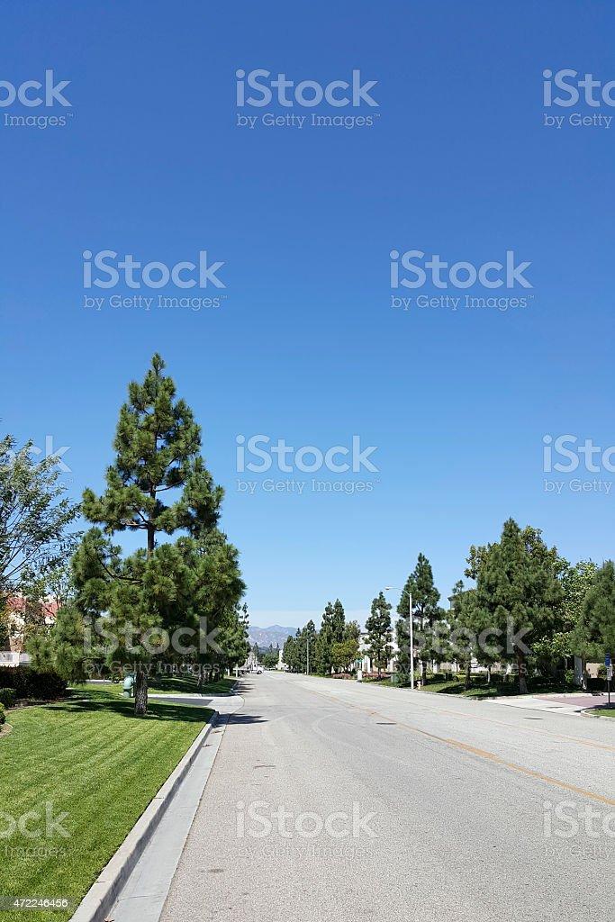 Camarillo Ranch Road stock photo