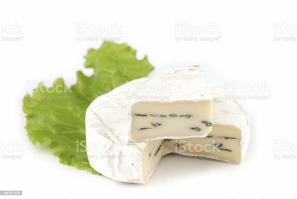 Cambazola Blue Cheese stock photo