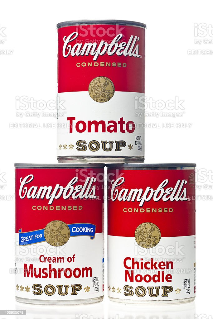 Cambell's Soup royalty-free stock photo