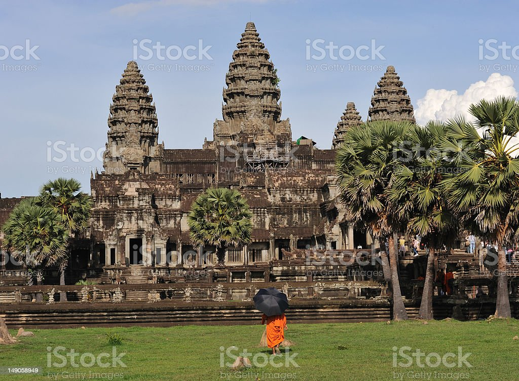 Cambodia Angkor wat royalty-free stock photo