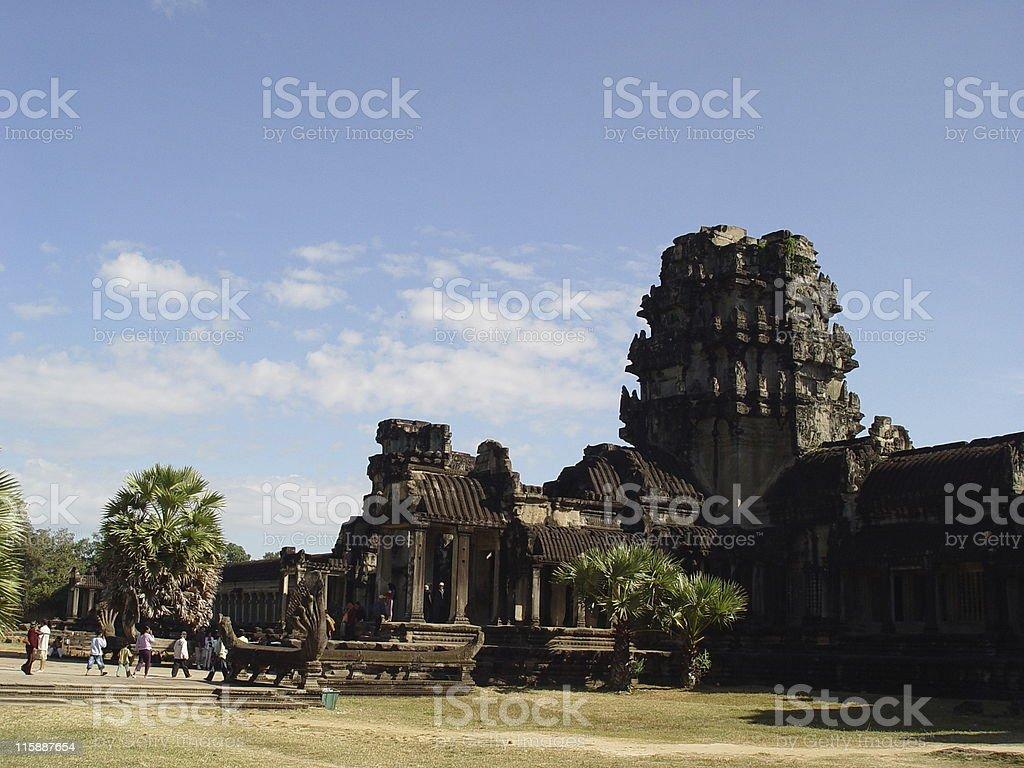 Cambodia - Angor Wat royalty-free stock photo
