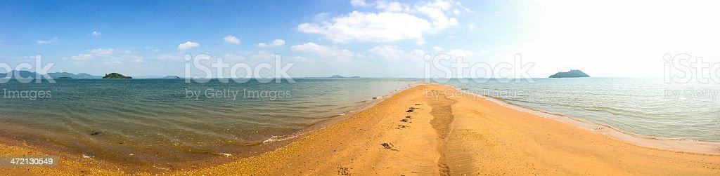 Cambodia, Kep Province, Koh Tonsay. stock photo