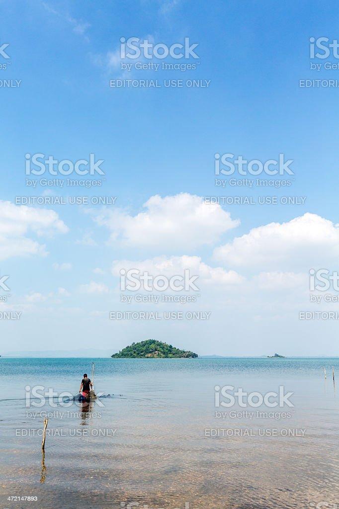 Cambodia, Kep Province, Koh Tonsay. royalty-free stock photo