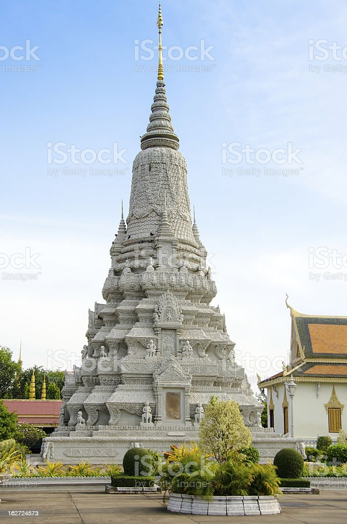 Cambodia, Phnom Penh, Wat Preah Keo Complex royalty-free stock photo