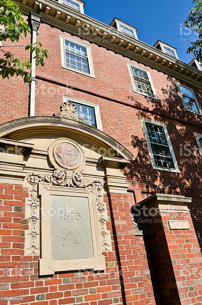 Cambridge Architecture stock photo