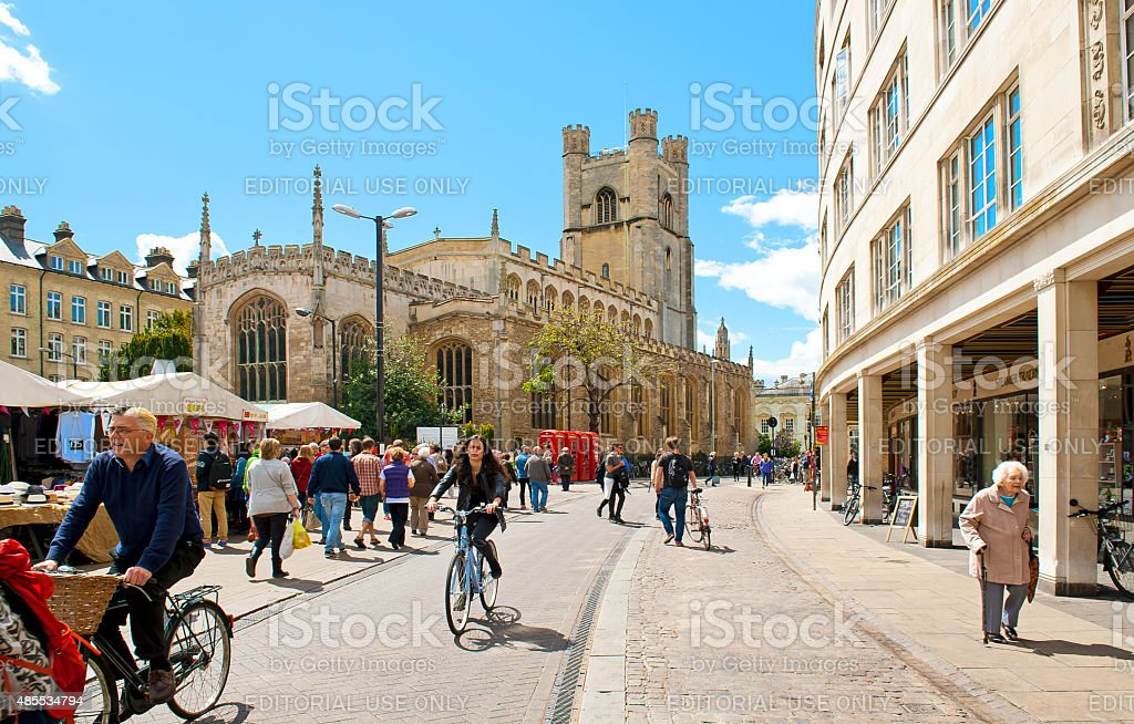 Cambridge stock photo