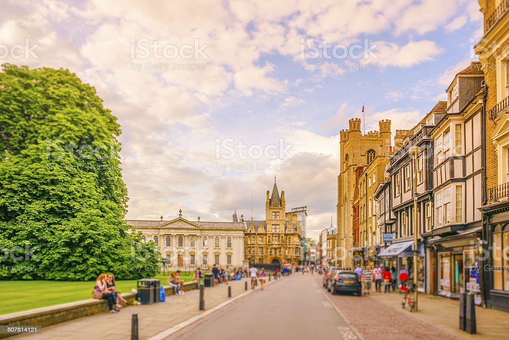 Cambridge, UK stock photo