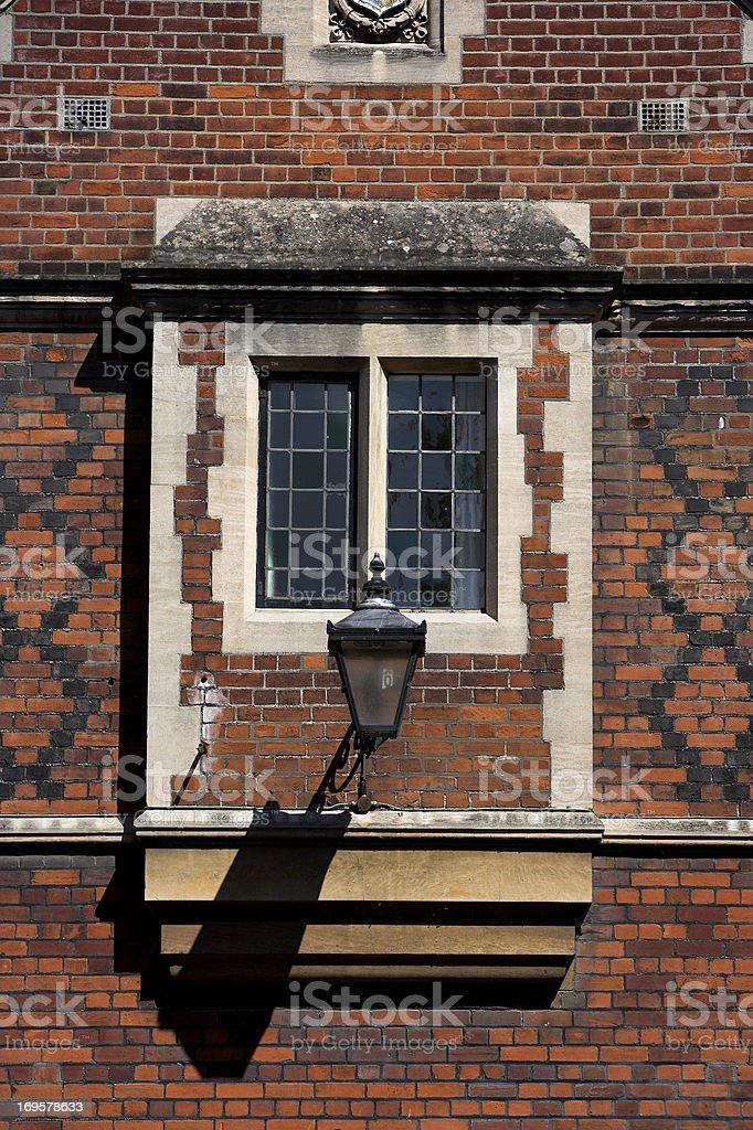 Cambridge University architecture royalty-free stock photo
