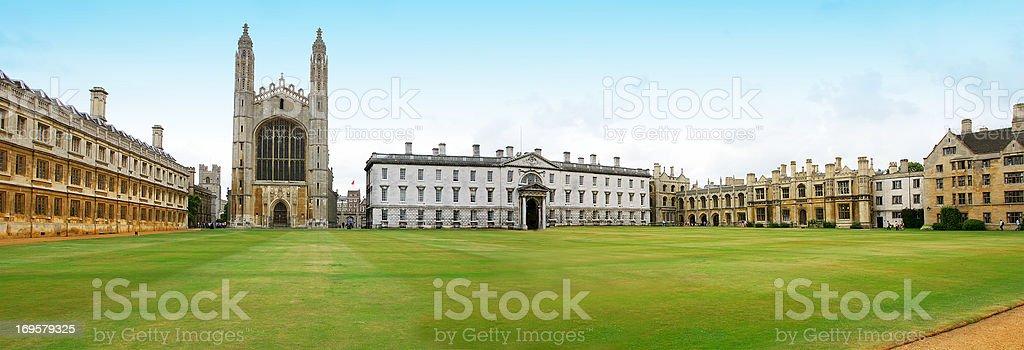Cambridge University, England royalty-free stock photo