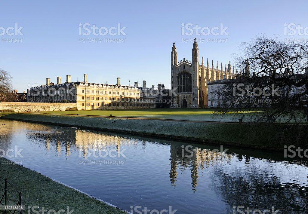 Cambridge University stock photo