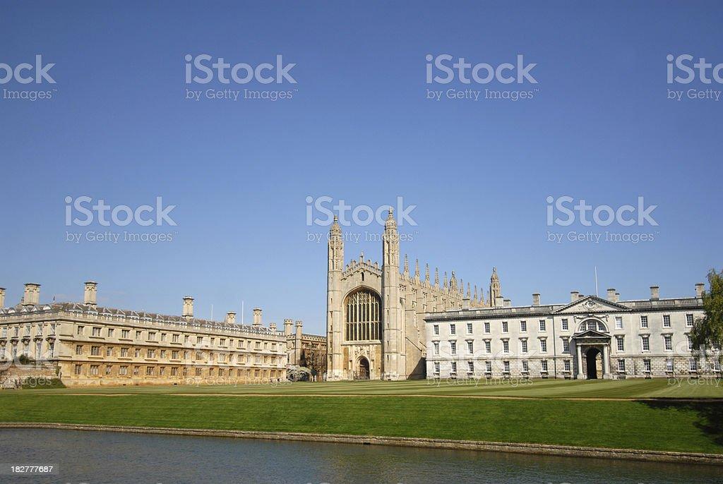 Cambridge university. royalty-free stock photo