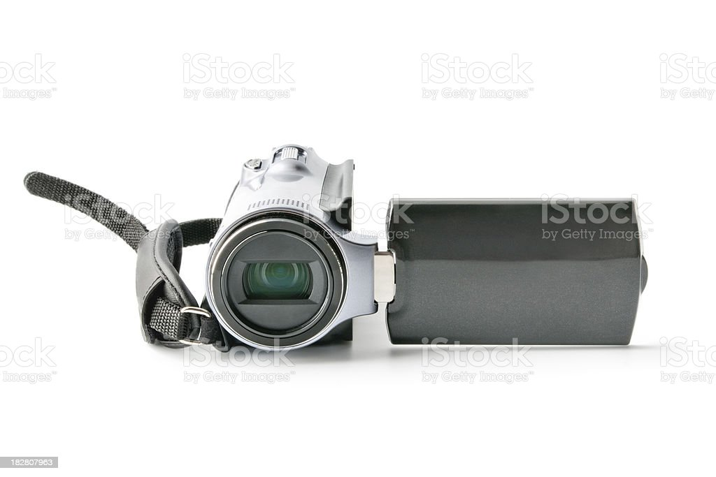 Camcoder stock photo