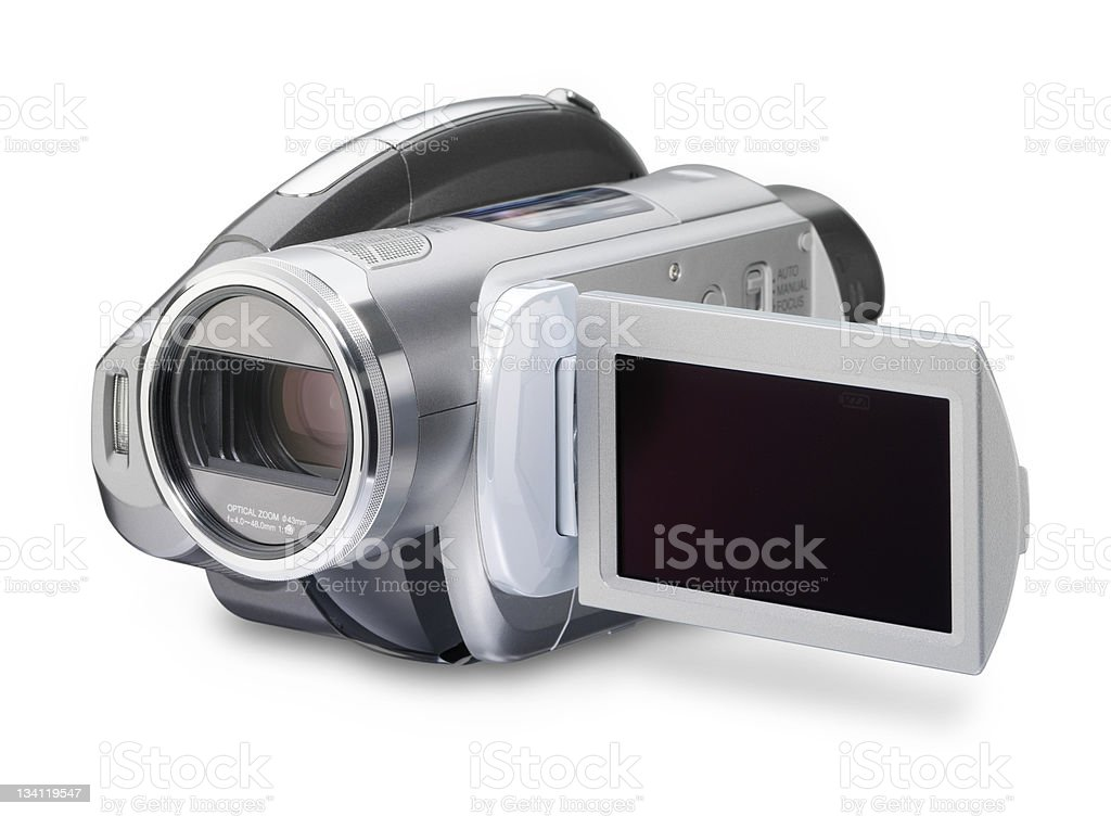 DVD camcorder royalty-free stock photo
