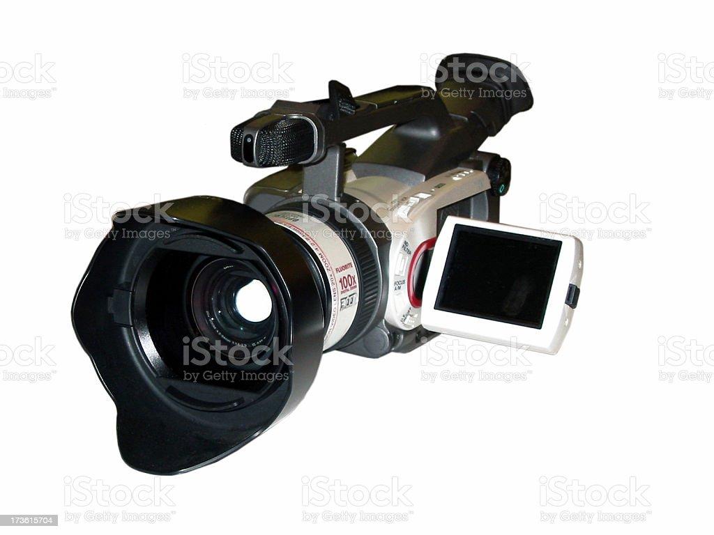 Camcorder stock photo