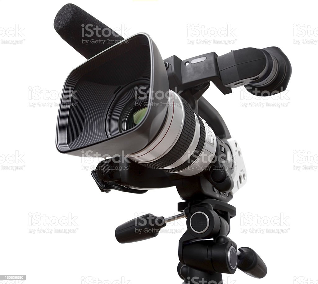 DV Camcorder royalty-free stock photo