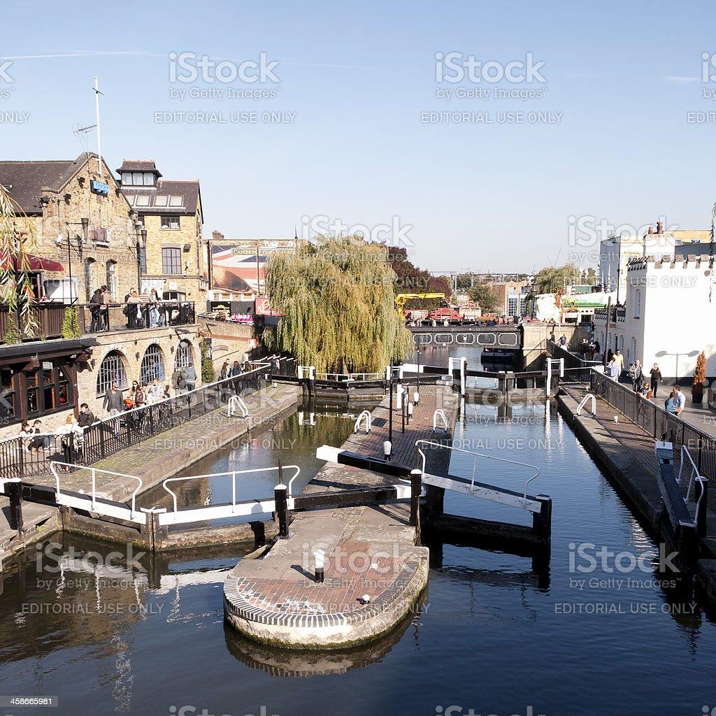 Camden Lock - London stock photo