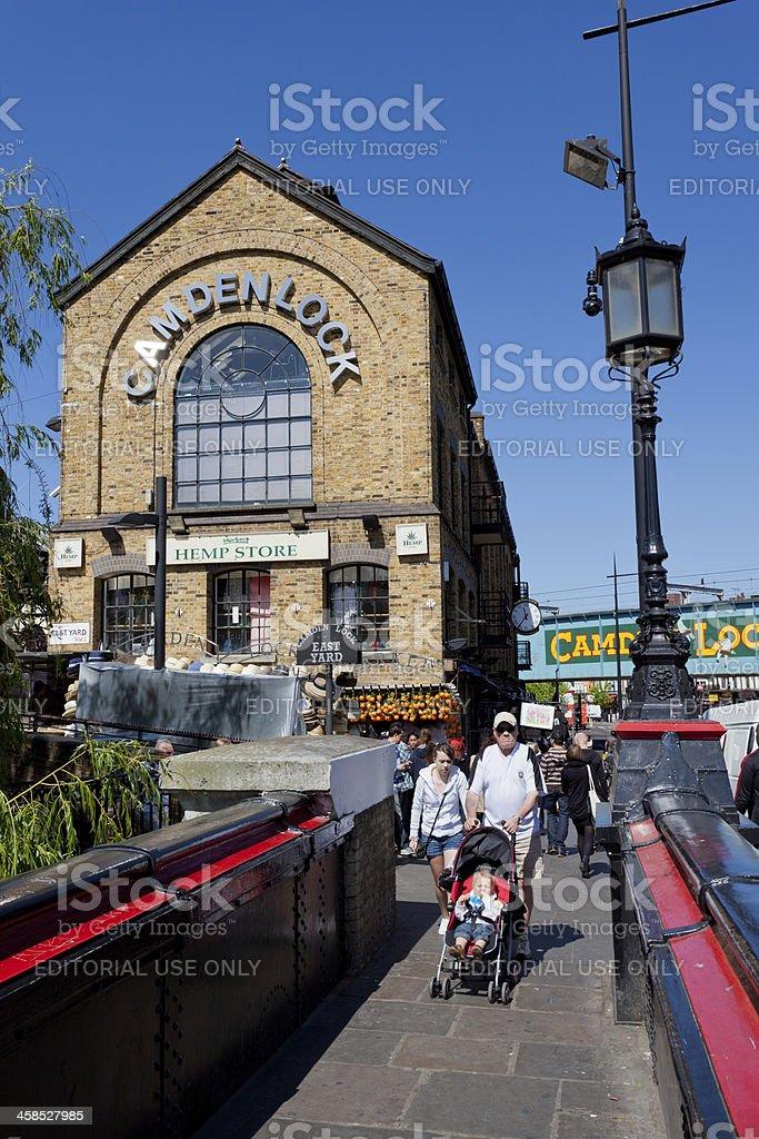 Camden Lock Market, London stock photo