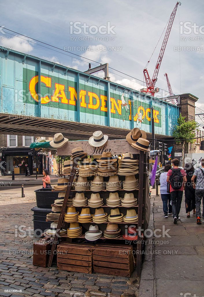Camden Lock stock photo