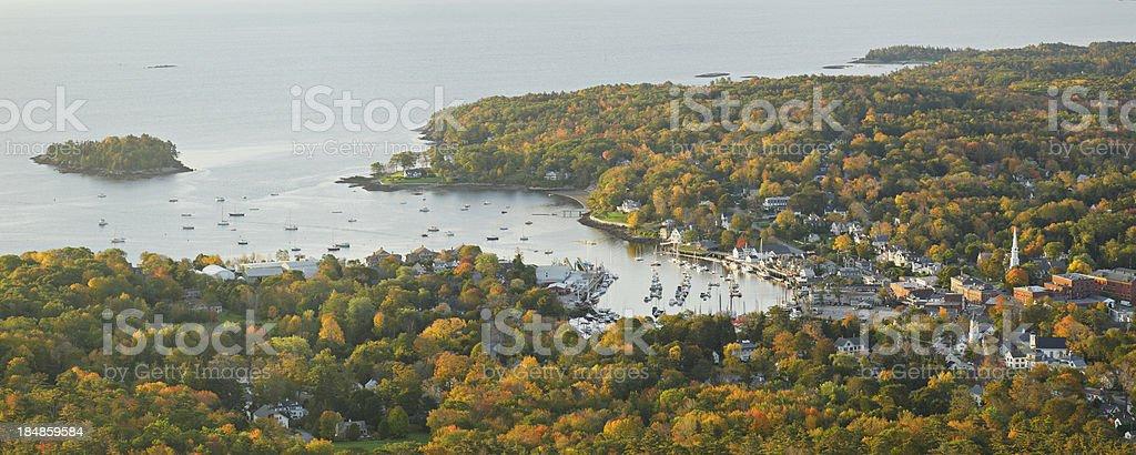 Camden Maine royalty-free stock photo