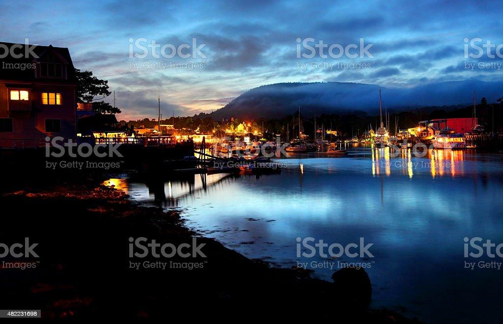 Camden, Maine stock photo