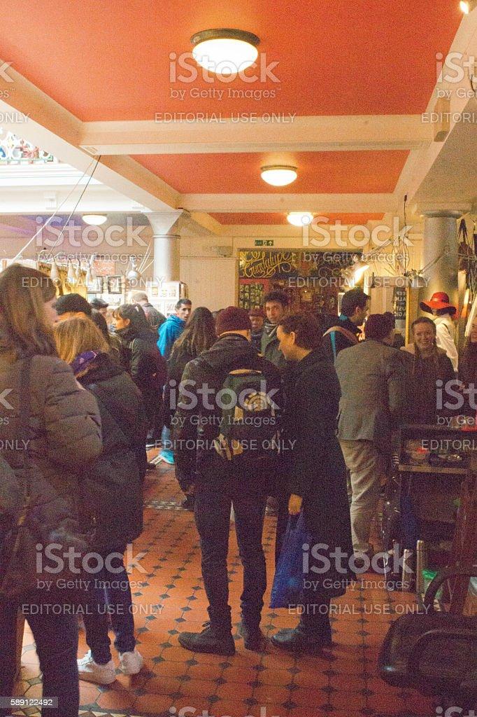 Camden Market stock photo