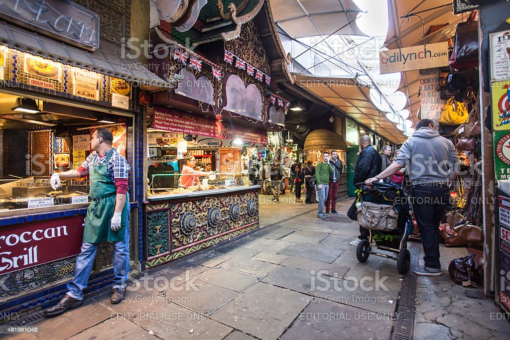 Camden Market Stable London stock photo