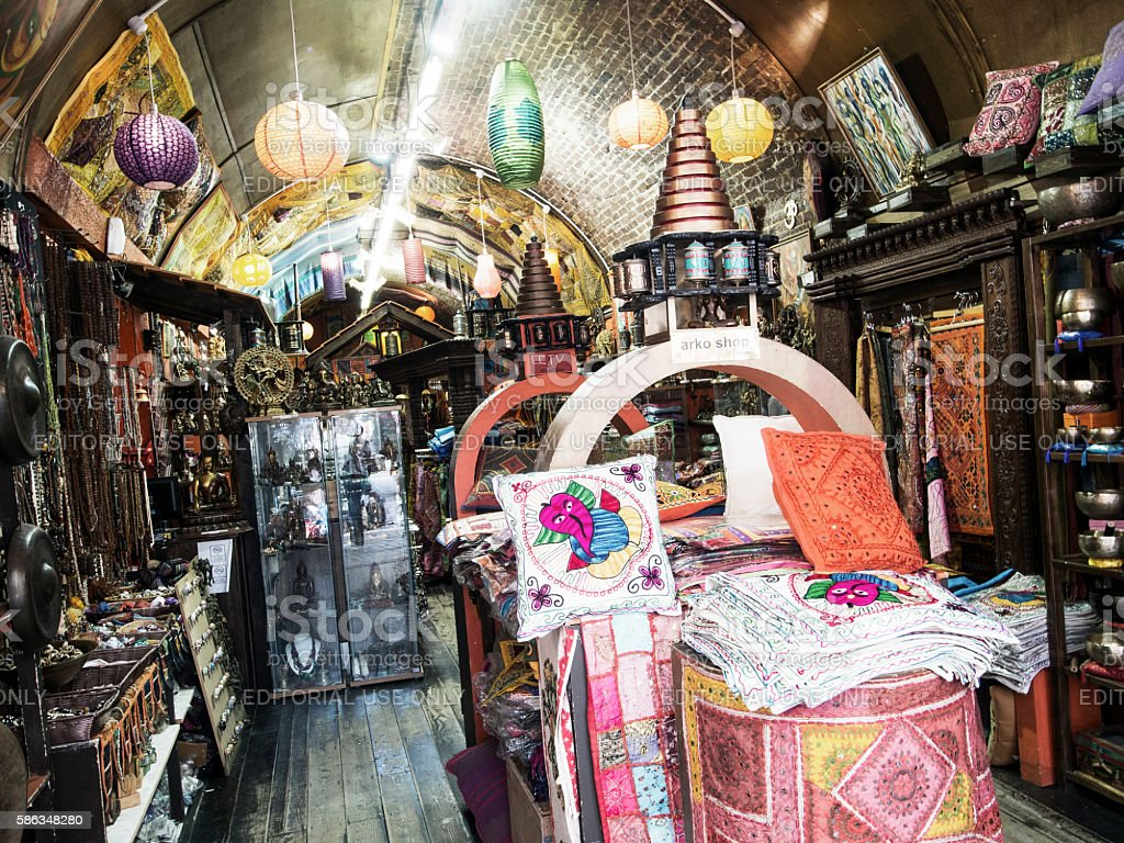 Camden Market Stall stock photo