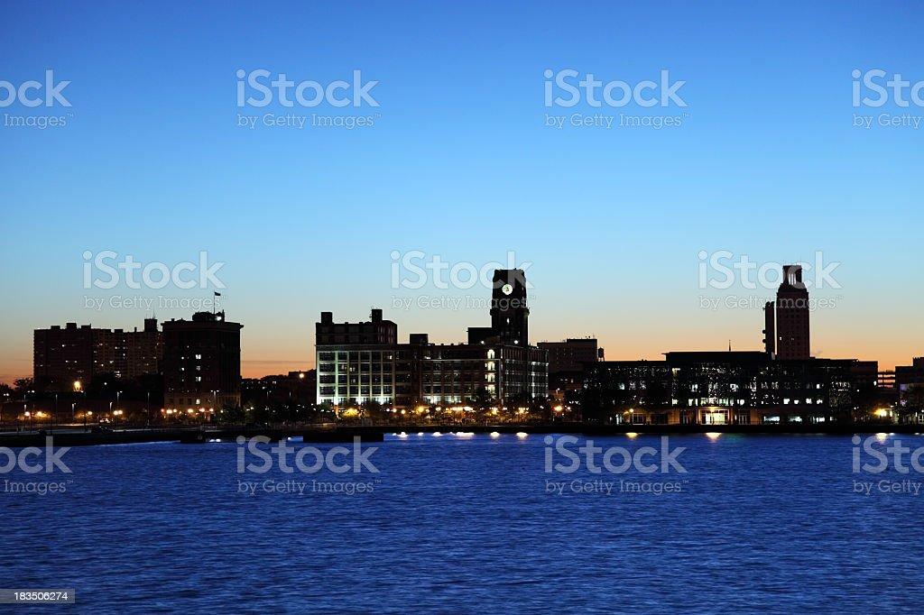 Camden, New Jersey stock photo