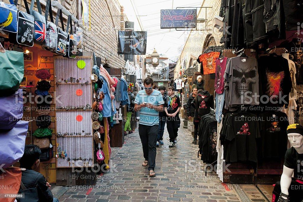 Camden Stables Market - London stock photo