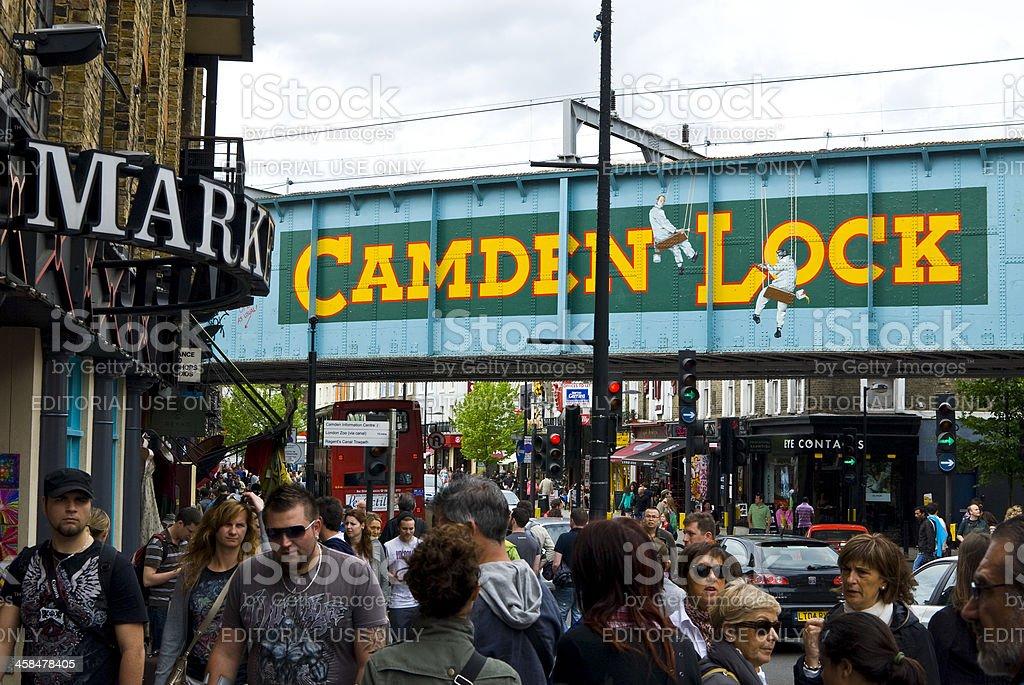 Camden Town - London stock photo