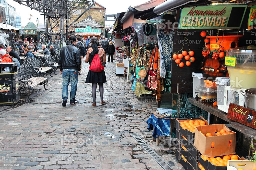 Camden Town, London stock photo