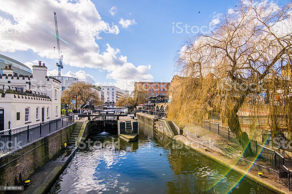 Camden Town. stock photo