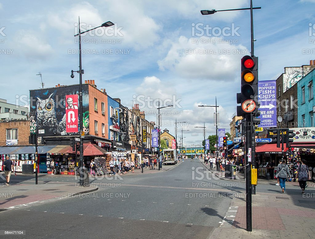 Camden Town stock photo