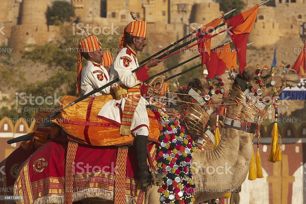 Camel Corps stock photo