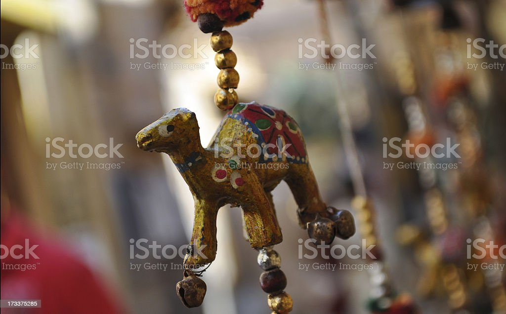 Camel puppets royalty-free stock photo