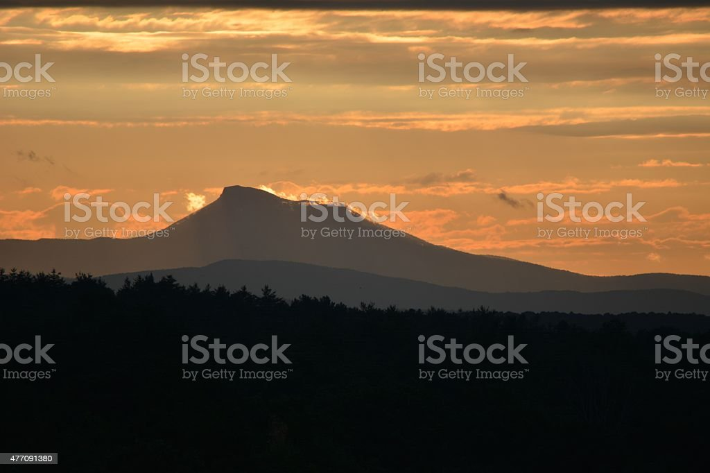 Camel's Hump stock photo