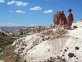 Camel-shaped rocky mountaine