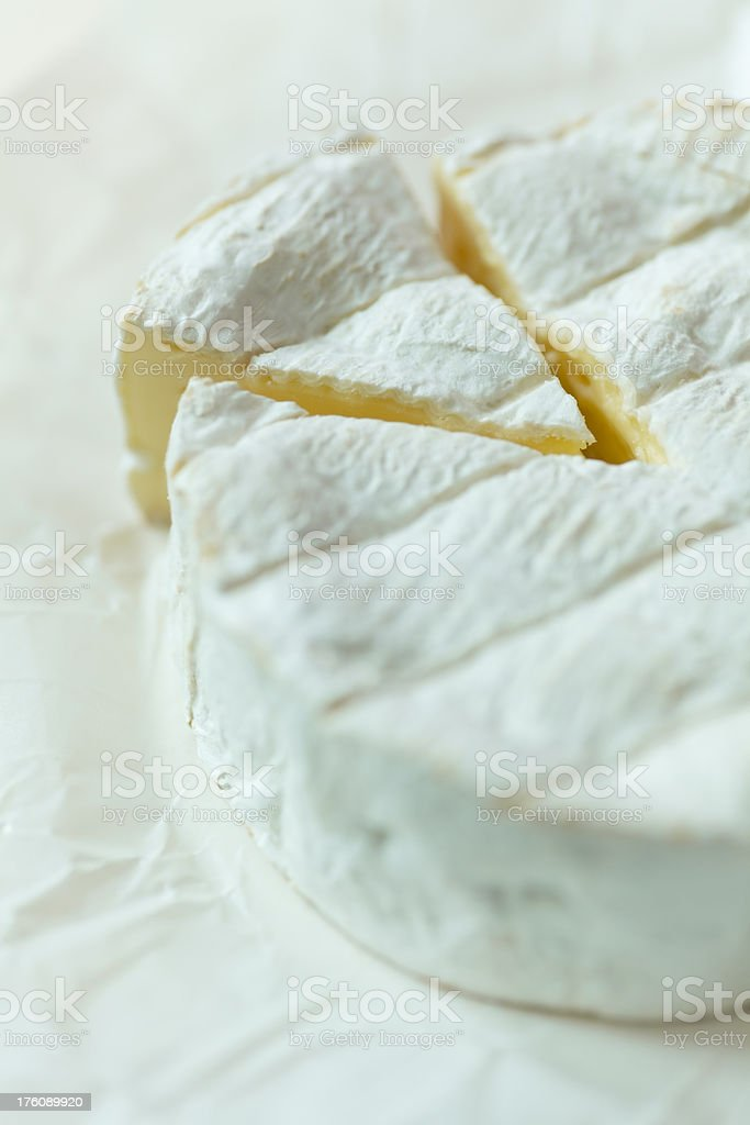 Camembert Cheese. royalty-free stock photo