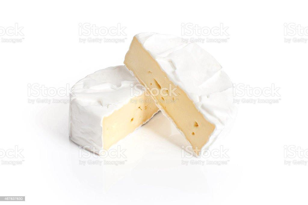 Camembert cheese. stock photo