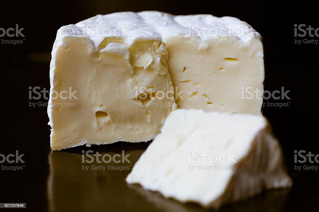 Camembert de Normandie stock photo