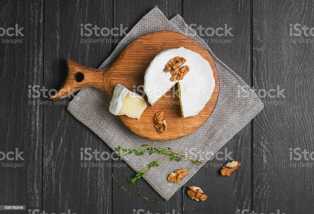 Camembert food photo stock photo