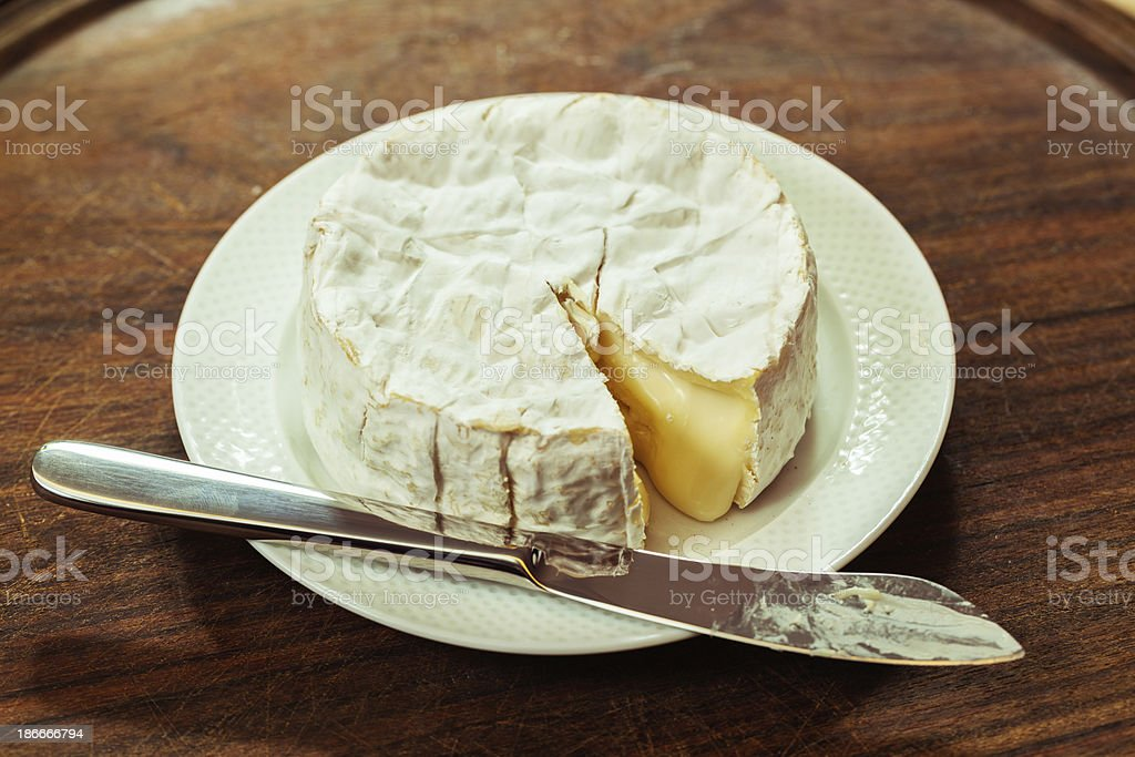 Camembert royalty-free stock photo