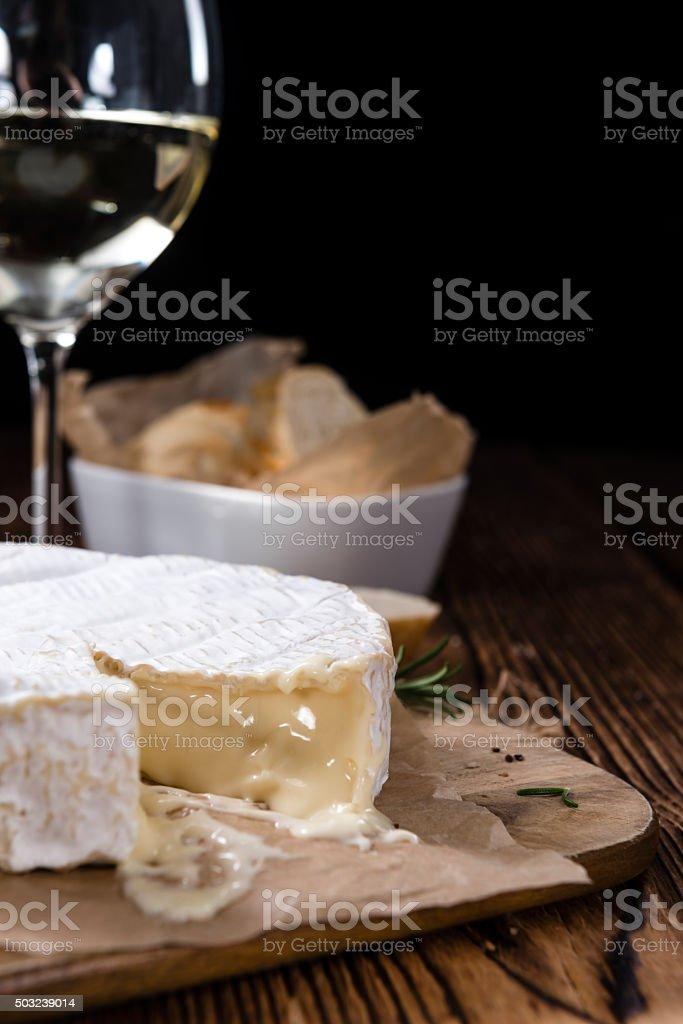 Camembert stock photo