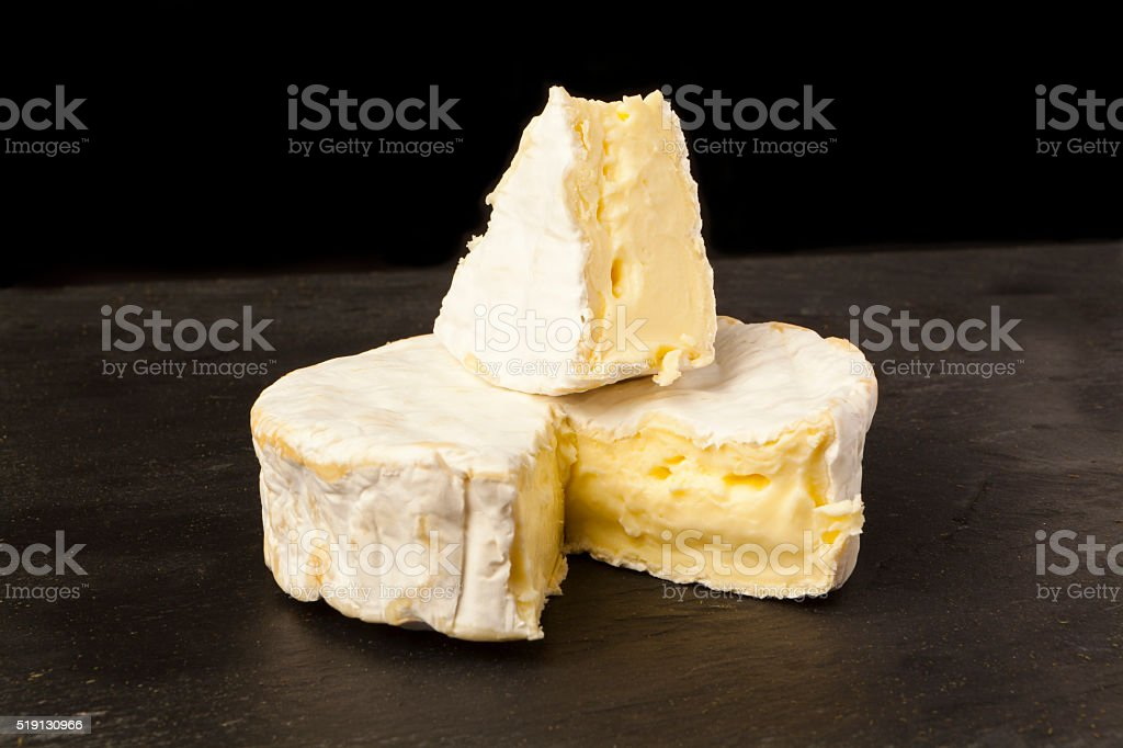 Camembert stock photo