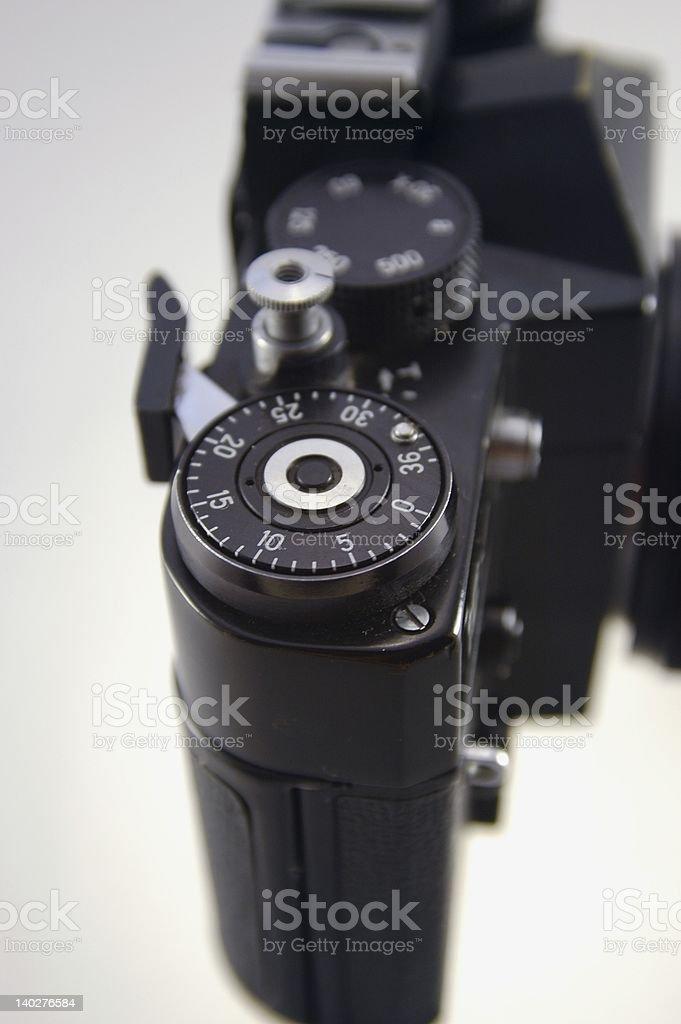 camera 35 mm stock photo