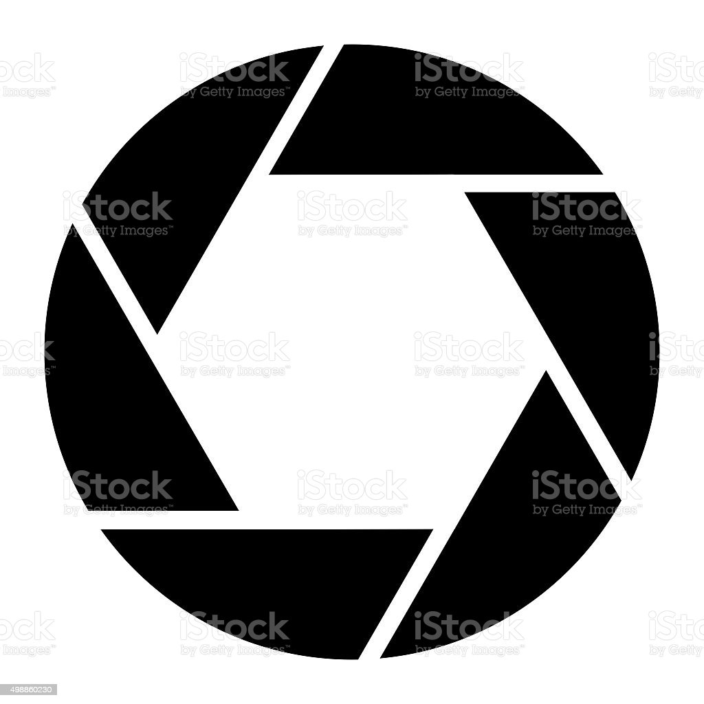 Camera Aperture Photography Symbol stock photo
