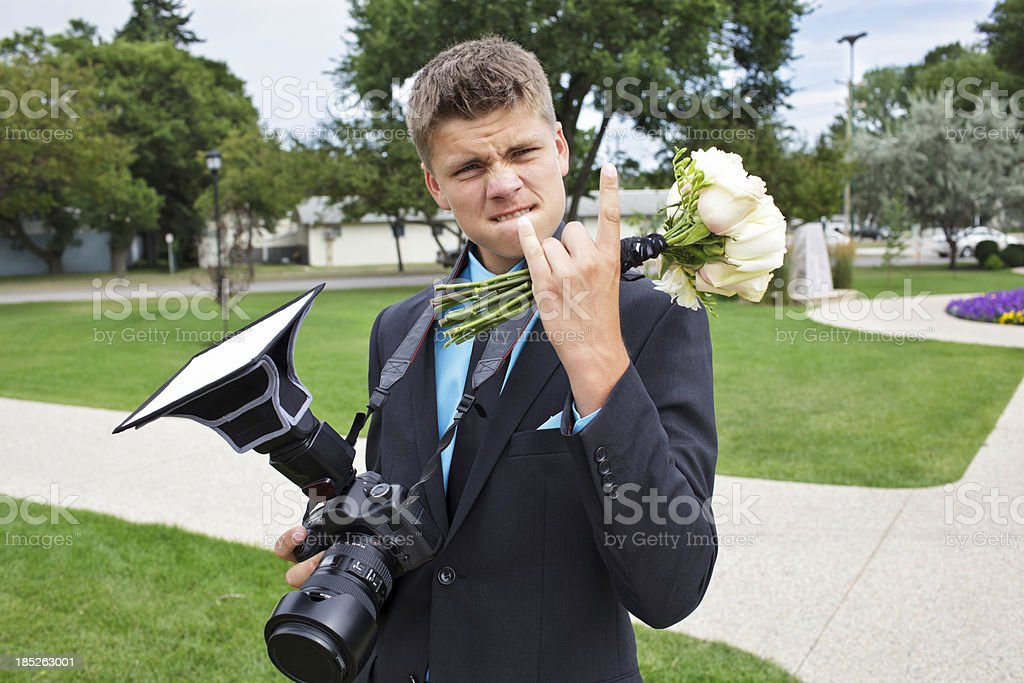 Camera Boy Male Teenager royalty-free stock photo