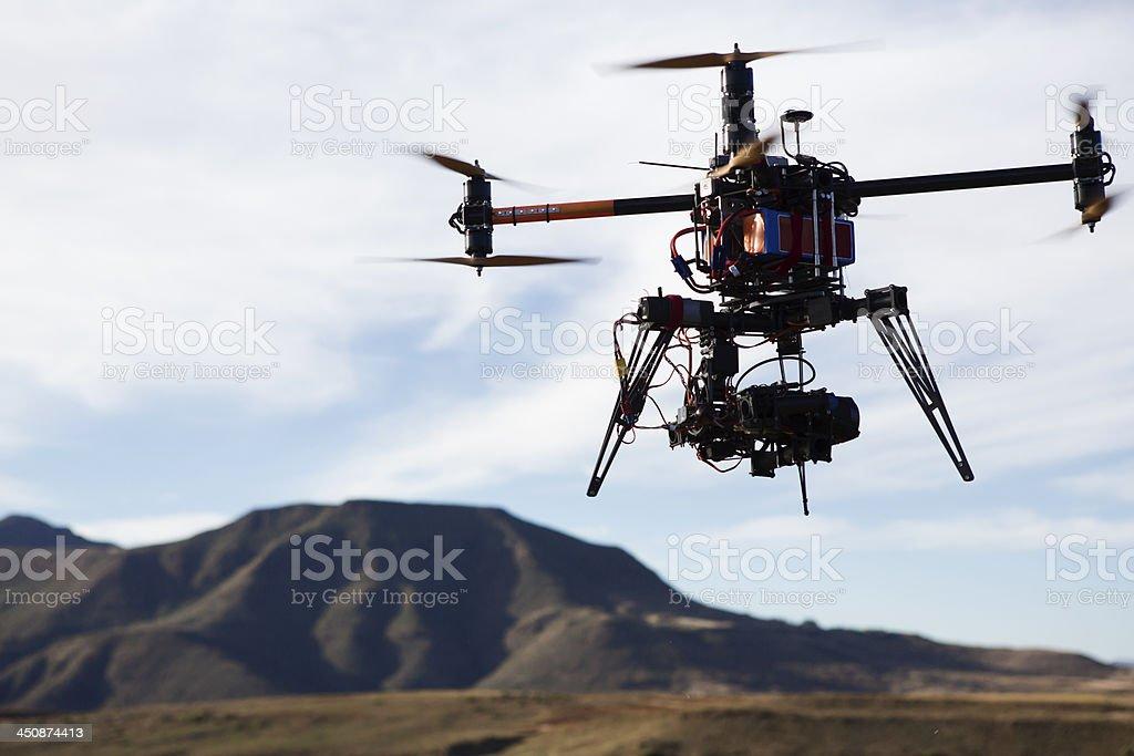 Camera Drone stock photo