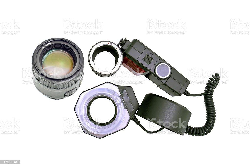 camera equipment royalty-free stock photo